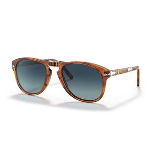 PERSOL Steve McQueen 714-s-m 96/83 tartarugato / blue polar occhiali