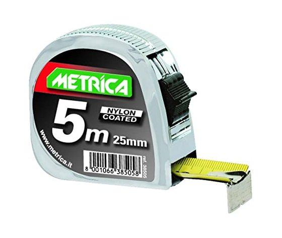 Flessometro metrica metallo mt.5