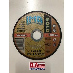 DISCO TAGLIO FERRO GOLD MM.125X1,6