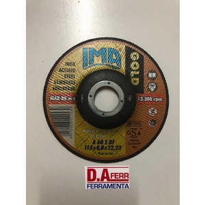 DISCO TAGLIO INOX GOLD MM.115X0,8