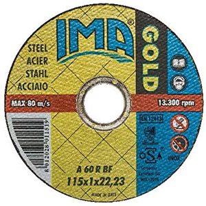 DISCO TAGLIO INOX GOLD MM.115X1,0