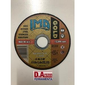 DISCO TAGLIO INOX GOLD MM.115X1,6