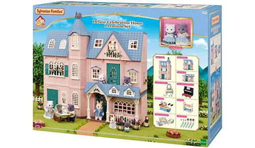 SYLVANIAN FAMILIES HOUSE DELUXE CELEBRATION SET