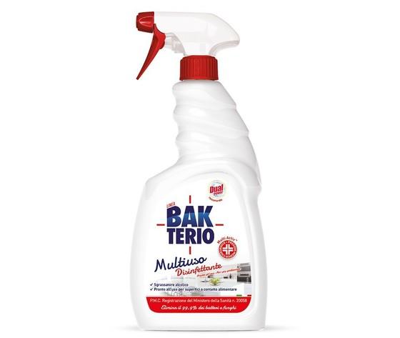 Spray disinfettante multiuso bakterio dual power