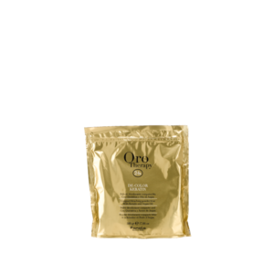 Fanola Orotherapy  De-Color Keratin 500 Gr New Polv.Decol.Comp.Blu Cher. E Olio Argan 500 Gr