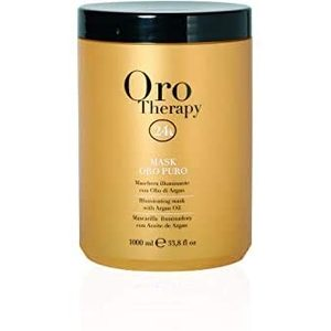 Fanola Orotherapy Mask Oro Puro  Maschera Illuminante Con Cheratina E Argan 1000 ml