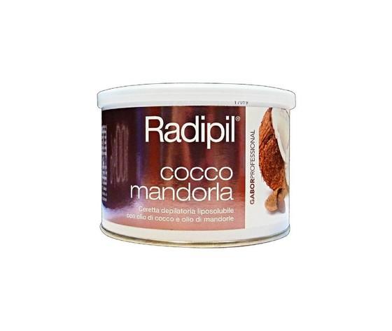 Cera depilatoria liposolubile barattolo 400 ml cocco e mandorla radipil