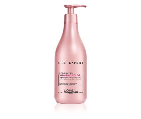 Loreal professionnel serie expert vitamino color resveratrol shampoo rinforzante per capelli tinti