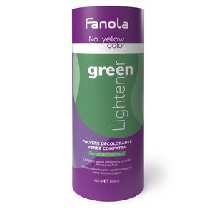 Polvere Decolorante Verde Fanola No Yellow 450 gr