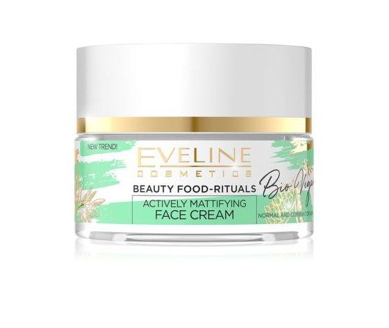 Eveline cosmetics bio vegan crema giorno e notte normalizzante e opacizzante