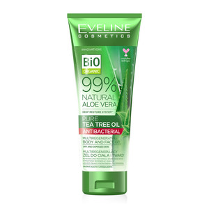 Gel all'Aloe Vera e olio di Tea Tree - Eveline Cosmetics