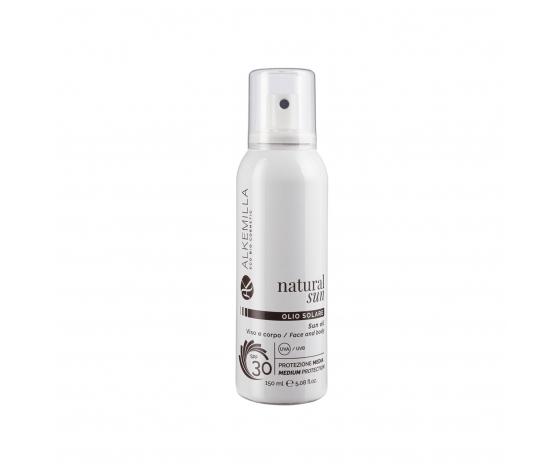 Olio solare spray protezione corpo spf 30 alkemilla