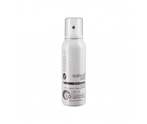 Olio solare spray protezione corpo spf 50 alkemilla