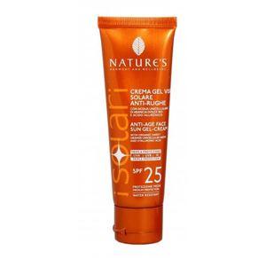 Crema Gel Viso Solare Anti-Rughe Spf 25 - Nature's