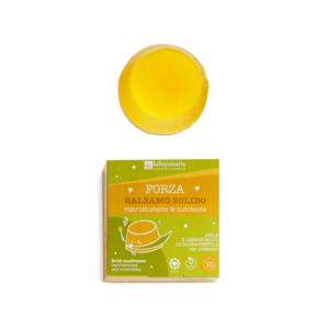 Balsamo Solido Ristrutturante&Nutriente - Forza - La Saponaria