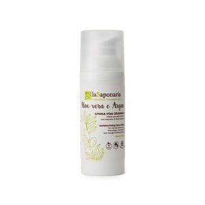 Crema Viso Idratante Aloe Vera e Argan – La Saponaria