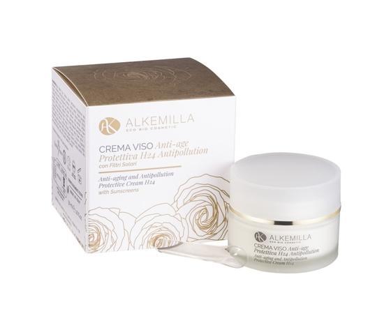 Crema viso anti age protettiva h24 antipollution alkemilla