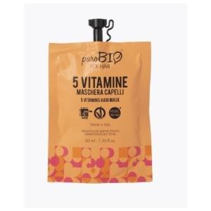 Maschera Capelli alle 5 Vitamine - PuroBio