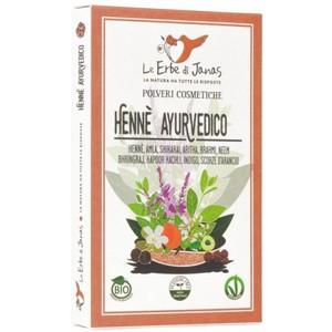 Hennè Ayurvedico - Le Erbe di Janas