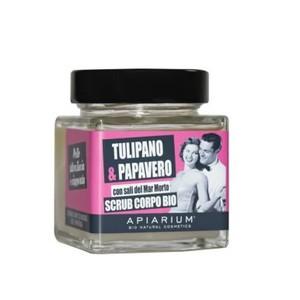 Scrub corpo Bio Tulipano e Papavero - Apiarium