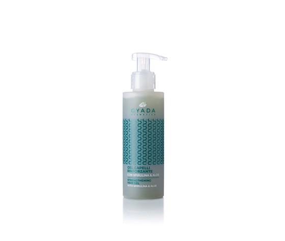 Gel capelli rinforzante con spirulina aloe