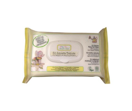 Page salviette delicate per igiene bebe bay anthyllis