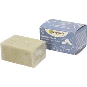 Shampoo Solido Purificante e Anti-forfora - La Saponaria