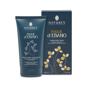 Crema Corpo Tonificante - Foglie d'Ebano - Nature's