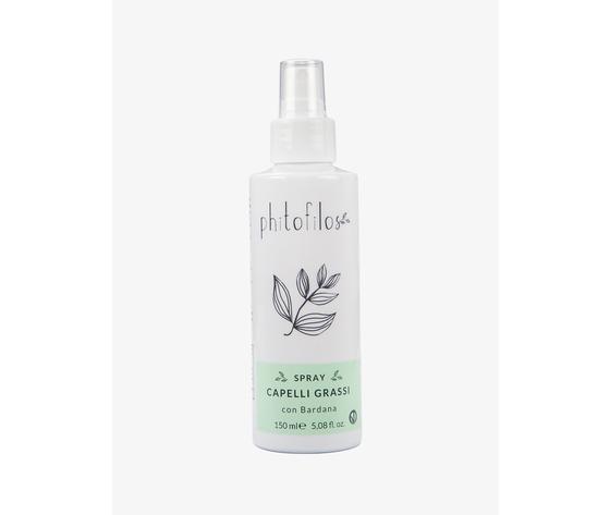 Spray capelli grassi phitofilos
