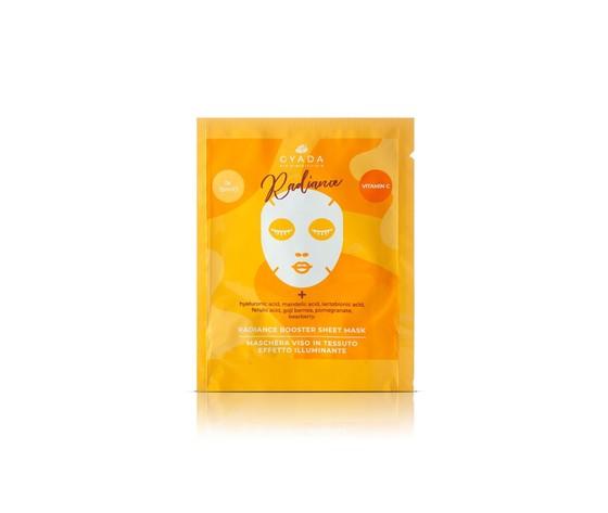 Radiance booster sheet mask maschera viso in tessuto illuminante