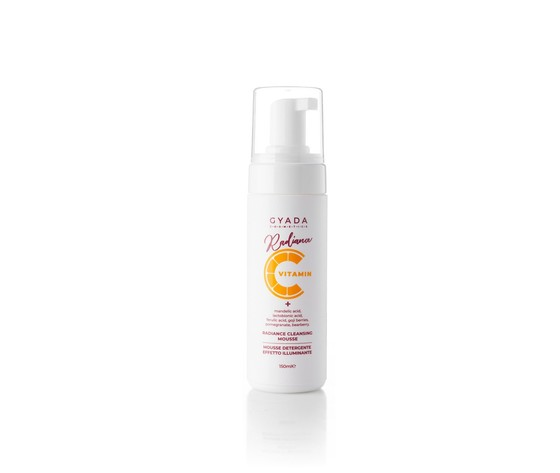 Radiance cleansing mousse mousse detergente illuminante