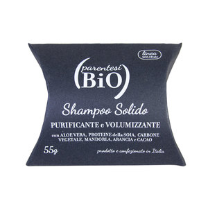Shampoo Solido Purificante e Volumizzante - ParentesiBio