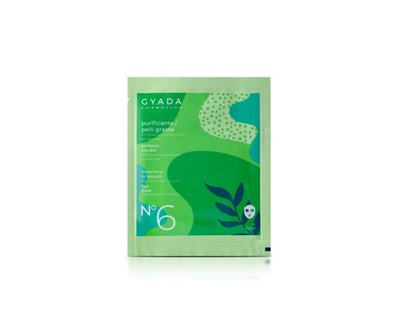 Maschera in tessuto n6 purificante pelli grasse