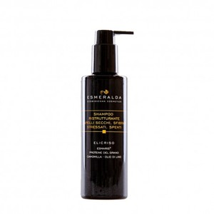 Shampoo Ristrutturante capelli Secchi, sfibrati, spenti, stressati - Esmeralda