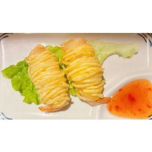 Crocchette di gamberi e patate