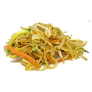 Spaghetti udon con carne
