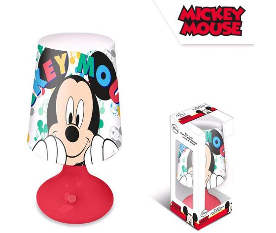 Disney mickey mouse table lamp 18 cm multi