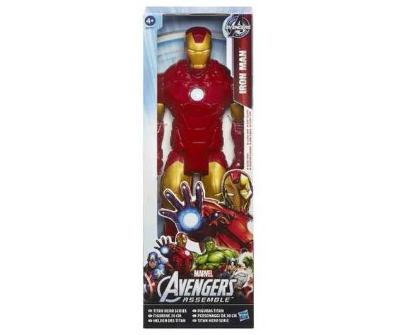 Avengers assemble titan hero action figure iron man 30 cm