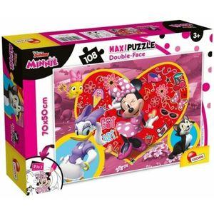 Maxi Puzzle Minnie double-face 108 pezzi