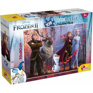 Maxi Puzzle Frozen II double-face 108 pezzi