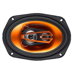 """COPPIA CASSE ALTOPARLANTI TRIASSIALI CADENCE Q693 6X9"""" AUTO AUDIO top sound SPL"""