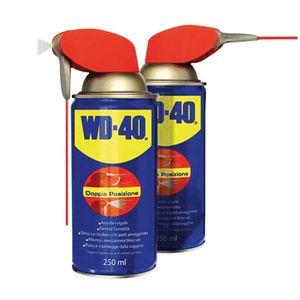 250ML WD 40 Lubrificante Sbloccante Multiuso Spray Doppia Posizione Maxi Formato