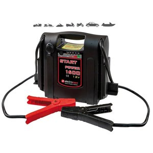 Avviatore con batteria piombo electromem start power 1600 12v AUTO SCOOTERS MOTO