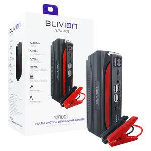Avviatore con batteria al litio Blivion JS/AL-A08 BENZINA DIESEL 300 AMP 12V USB