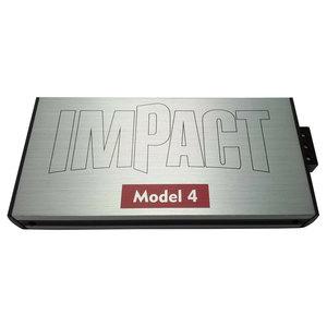 Amplificatore Auto Moto Nautica 4/3/2 canali IMPACT MODEL 4 Compatto 1280w MAX