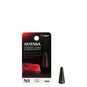 AM-FM Alluminio Micro N1 Universale Alluminio Accessori Auto Audio Antenna