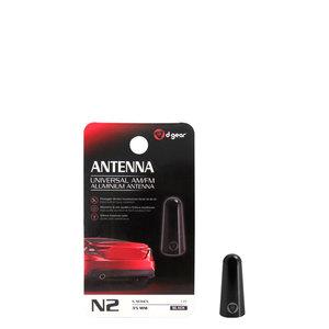 AM-FM Alluminio Micro N2 Universale Alluminio Accessori Auto Audio Antenna 35MM