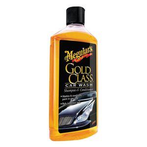 Shampoo con cera pulizia e lucidatura auto Gold Class - Car Wash 473ml MEGUIARS