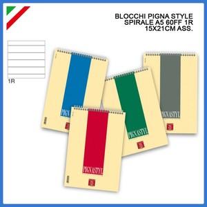 Block Notes Spiralato PIGNASTIL A5 1R