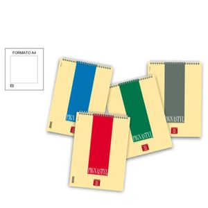 Block Notes Spiralato PIGNASTIL A4 Bianco